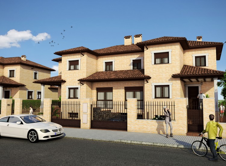 Residencial Galicia - Vista frontal